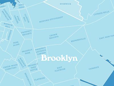 Brooklyn map brooklyn nyc brooklyn design map