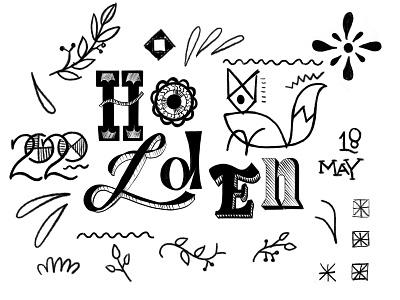 Holden type lettering