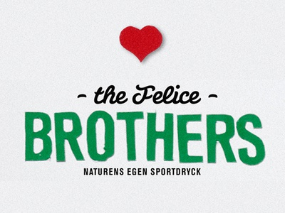 Felice Brothers type spec