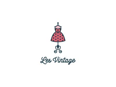 Les Vintage clothes women fashion retro dress