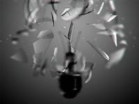 Lightbulb / exploding