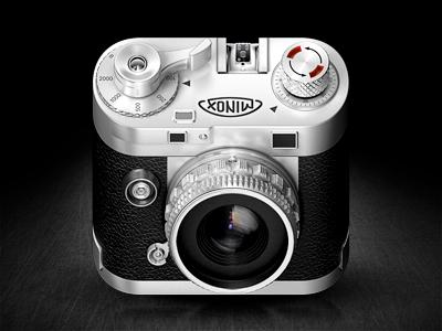 Minox Iphone Icon – 3d minox 3d camera rendering ios