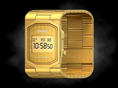 Casio iPhone Icon casio watch iphone icon rendering ios