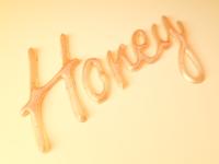 Honey dribbble large