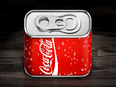 Cola iOS Icon coca cola ios icon iphone rendering