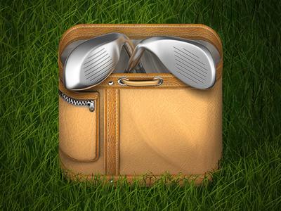 Golf Spain HD Icon golf spain iphone ios icon golfbag