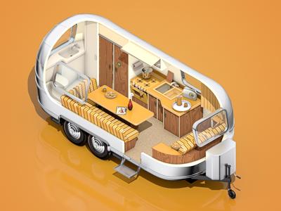 Airstream Cutout airstream trailer cutout safari camping cuuuuute