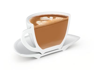 Flat White – Coffeeposter