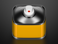 Spraycan iOS icon