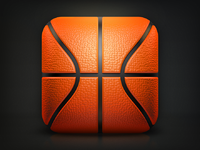 Basketball ios realpixels