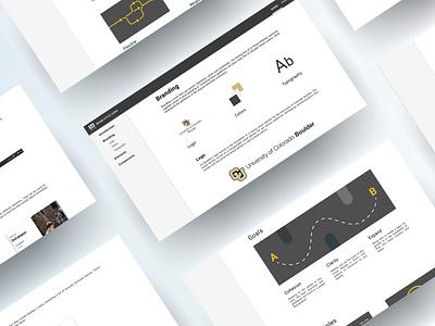Boulder Branding materialdesign simple uxui flat design web flat branding ux ui