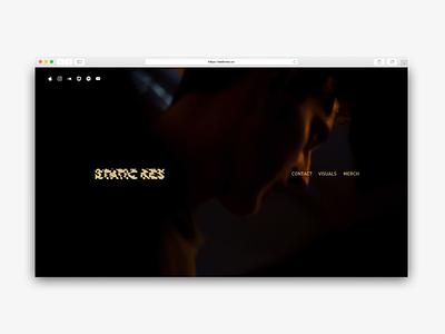 StaticRes Home Concept 2 website staticres webdesign web ux branding design ui