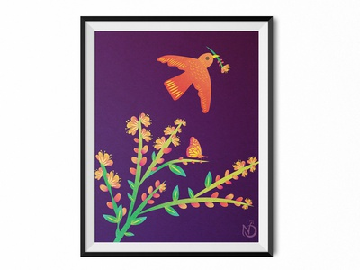 Peaceful Freedom graphic design plant nature art nature design custom type digital drawing butterfly digital art bird vectorart vector photoshop illustrator drawing illustration color