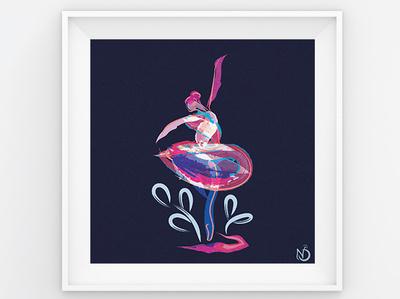 Dancer's Delight dancers dancer design plant nature adobe graphic design digital drawing digital art vectorart vector photoshop illustrator drawing illustration color