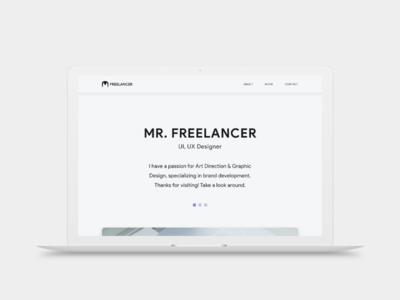 Mr. Freelancer