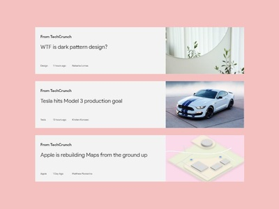 Minimal Blog Post Design