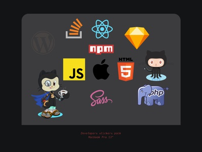 Developers Stickers Pack