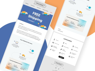 Email banner gif animation email design