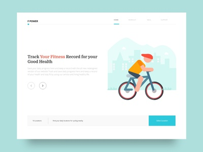 Your Fitness UI app illustration experience design ios website web design creative web ui8 typography minimal color clean user interface user experience ui uiux digital art graphic design design