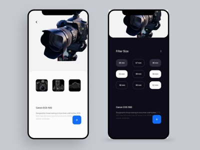 Product Design Canon elements app app design ui kits simple interface user interface dailyui flat minimal creative clean typography uiux ui design thinking color dribbblers graphic design design