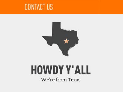 Howdy Y'all howdy texas orange taecho