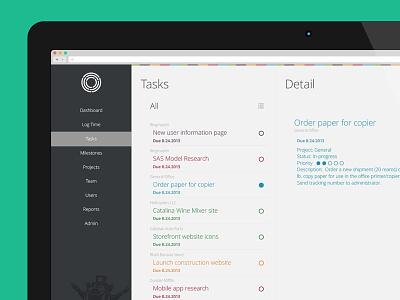A-Tisket, A-Task[et] tasks project management ringmaster colors svg
