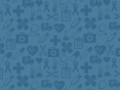 Health health blue heart er doc