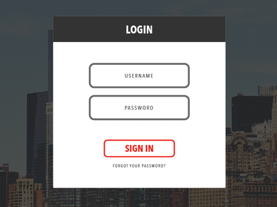 Simple Login login admin username password admin interface simple clean