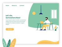 Let's Go Somewhere Landing Page
