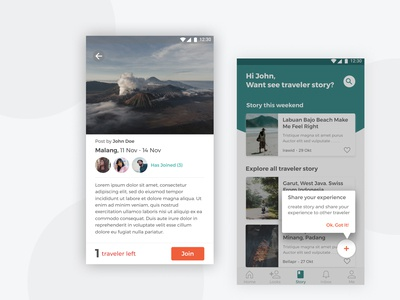 Traveler Platform App