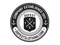 dopest clothing sticker 2