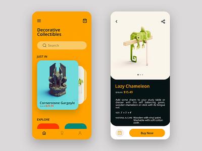 Shopping App Concept mobile app mobile app design voxel app shopping user interface ux ui
