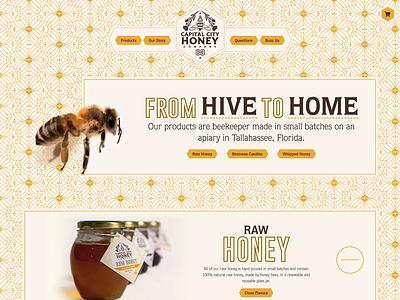 Capital City Honey Company - Website star apiary tallahassee hive candle building city capital honey bee