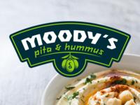 Moody's Pita & Hummus Brand Design