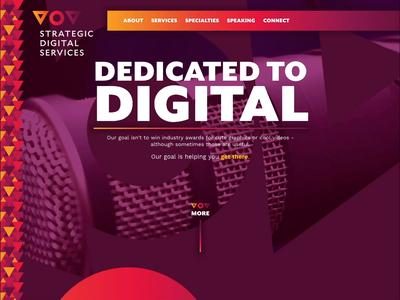 Strategic Digital Services Website ui animation website video digital