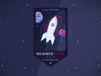 Science Alive Logo | Charity Event (V2)