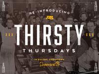 Thirsty Thursdays @ AB