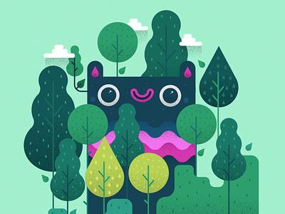 Cute Critters -2 critter characterdesign forest monster illustration cute