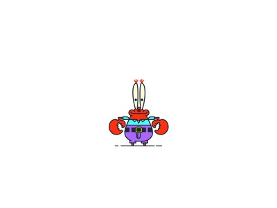 Bikini Bottom Characters vector illustration ideas graphic digital-art design creative characters character