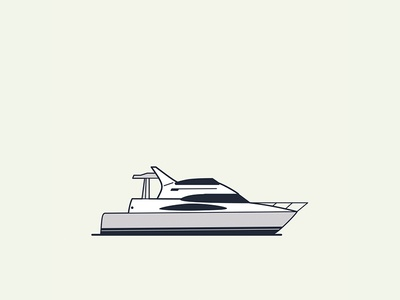 Puerto Banús / Marbella boat port spain vector illustration