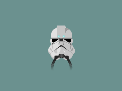 Imperial Heavy Trooper Helmet star wars stormtrooper
