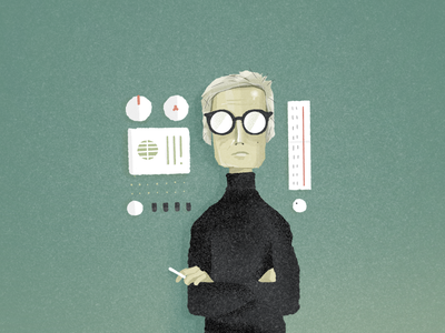 Dieter Rams illustration procreate designer design dieter dieter rams dribbbleweeklywarmup
