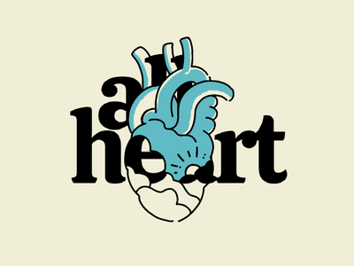 All Heart health heartbeat hearts all heart heart drawing hand drawn illustration procreate