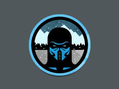 Mortal Kombat Sub-Zero badge