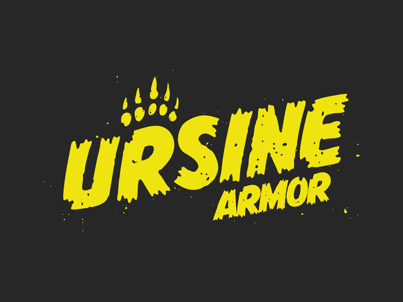 Ursine Armor Tee Shirt Design gaming armor grizzly bear ursine bear witcher witcher 3