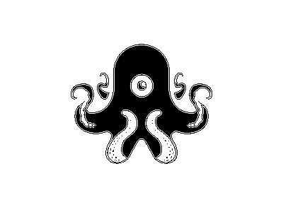 Octo animal octopus vector illustration