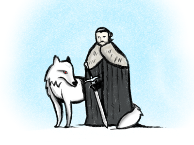 Jon Snow sketch