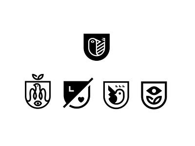 Lifeology logo variations bird logo bird brand design logo design branding brand logo
