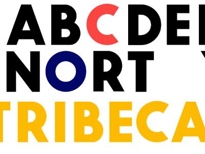 "Progress on ""Tribeca"" typeface font"