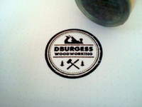 DBurgess Woodworking stamp